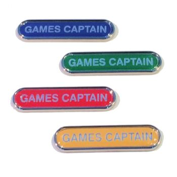 GAMES CAPTAIN badge